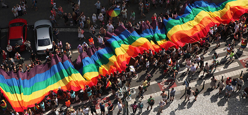 Parada del orgullo Buenos Aires